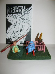 Battle Babies - Comic + Fig