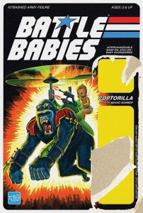 Battle Babies - LOGO card