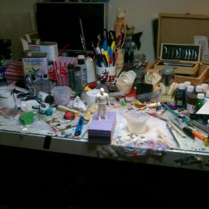 2bithack - work desk