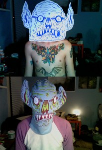 M Skattum - masks
