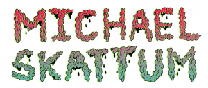 Michael Skattum - name logo