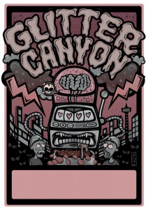 Sindy Sinn - Glitter Canyon poster
