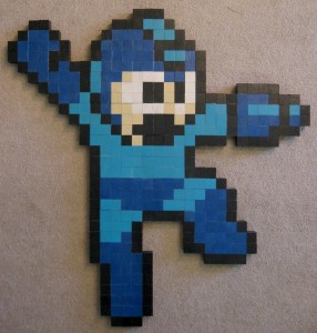 Wood Work - mega man