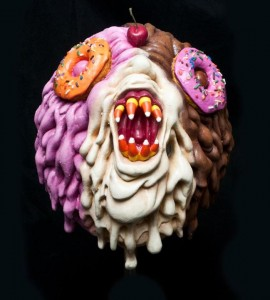 Atomic Vomit - Alex Pardee mask