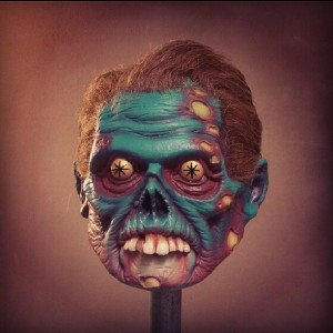 Atomic Vomit - They Live mini mask