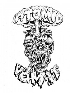 Atomic Vomit - logo - L'Amour Supreme