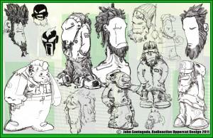 John Santagada - sketches