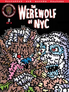 Werewolf of NYC - Comic No. 2