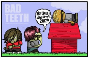 Bad Teeth - 2012 New Year Card