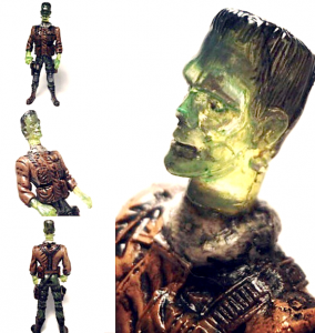 Blockheads Toys - Sgt. Corpse Grinder painted by Ersico