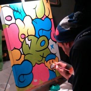 Jerkface - painting