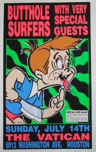 Kozik - Butthole Surfers Art