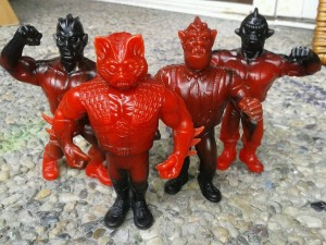 Goodleg Toys - Wrestlers of the Universe WOTU figures