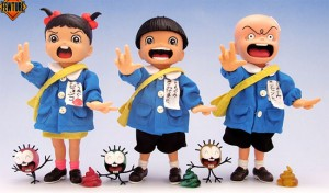 Kazuo Umezu's Makoto Chan figures
