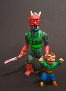 Krotpong - Krampus fig painted by Krotpong 002
