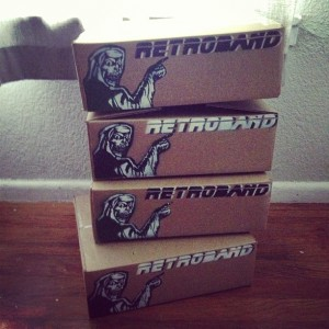 Retroband - boxes for shipping
