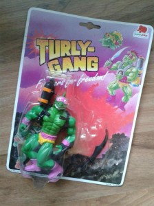 Turly Gang figure - carded
