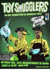 Goodleg Toys - Oct 2013 Jungbusch show poster