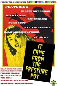 It Came from the Pressure Pot - poster