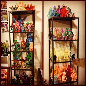 Kevin Herdeman - sofubi collection