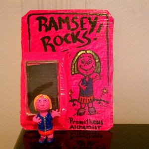 Ramsey 2013 with Prometheus Alchemist Ramsey Rocks toy