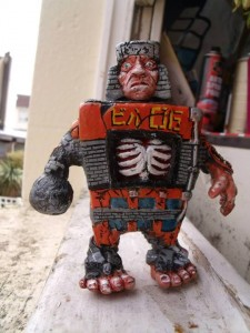 Big Man Toys - D Structure resin - painted