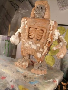 Big Man Toys - D Structure resin - sculpt
