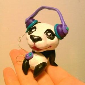 Music Loving Panda
