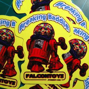 Falcon Toys - Breaking Baddie Sticker