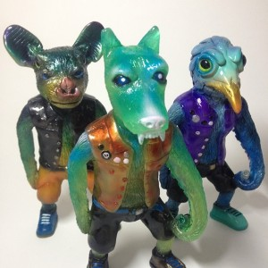 Holler Toys - resin one offs