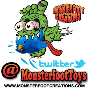 MonsterFoot - Twitter logo