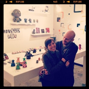 Chris Moore - Chris + Wife at Show