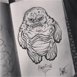 Chris Moore - drawing