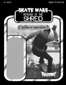 Skate Wars - Deerman Card Back