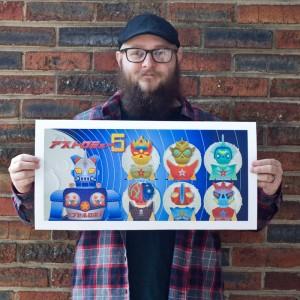 Cop A Squat - Adam + print