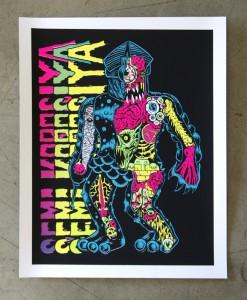 Cop A Squat - Semi Korosiya 003 - Skinner art print