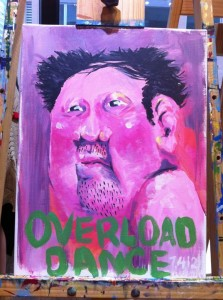 Over Load Dance - painting