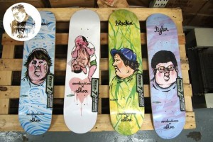 Over Load Dance x SHOX skateboards - skateboards