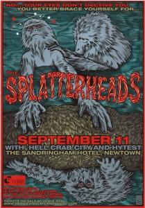 Glenno - Splatterheads poster