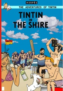 Glenno - TinTin in the Shire