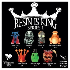 Tenacious Toys - Resin is King - Series 1