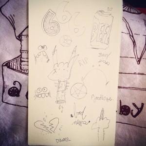 Tony Papesh - doodles