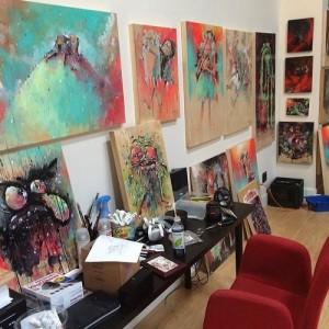 Tony Papesh - studio