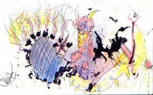 Charles Manson - art 001