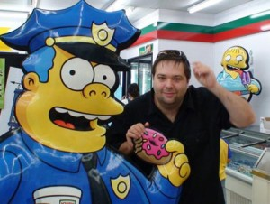 Shane n Chief Wiggum