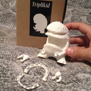 Nasty Neil - Trilpikid Groper Custom - Virgin Resin