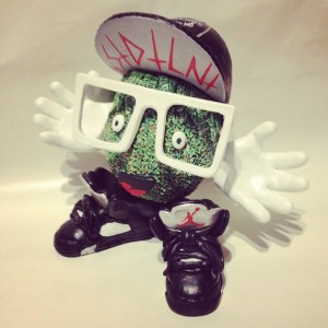 Nasty Neil - custom toy