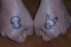 Neil - Hand Tatts - Munny n Dunny