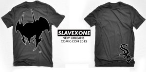 SlavexOne - T Shirt Design - 2012 - 006 - came with resin toy