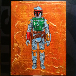 Birds In Boxes - Boba Fett 001